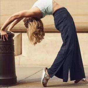 Athleta Gramercy Track Trouser Pants Navy NWOT